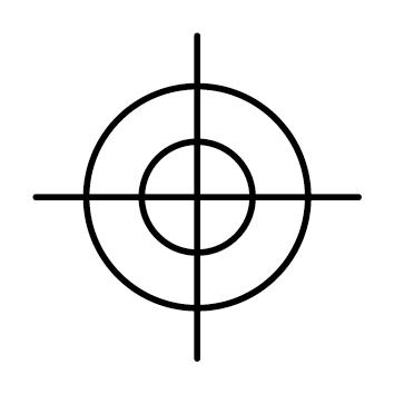 Sticker cible CHPE03