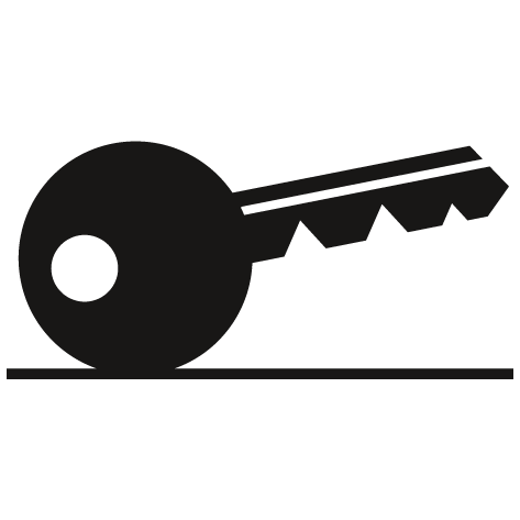Sticker clef de serrure : STC7