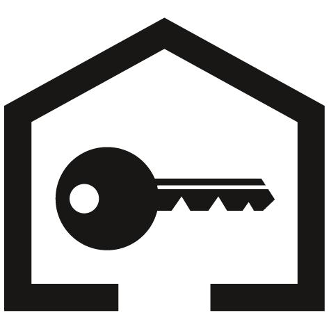Sticker clef de serrure : STC9