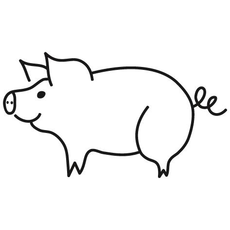 Sticker cochon : 04