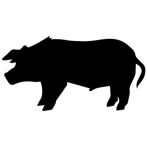 Sticker cochon : 01