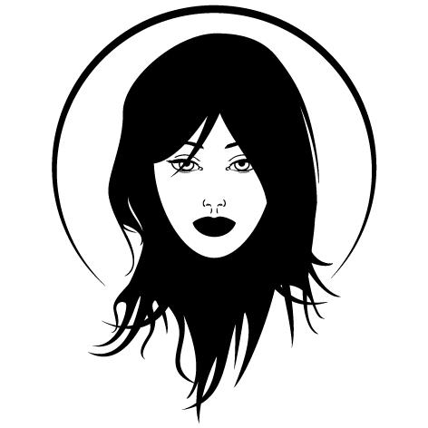 Sticker coiffure : SDC026