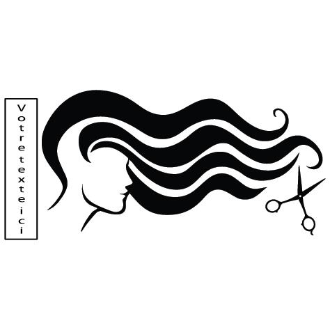 Sticker coiffure : SDC037