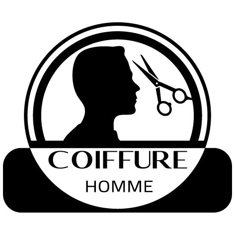Achat Sticker coiffure homme : SCH01