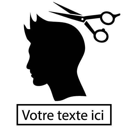 Sticker coiffure homme : SCH12