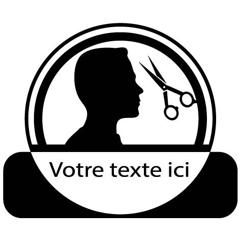 Sticker coiffure homme : SCH13