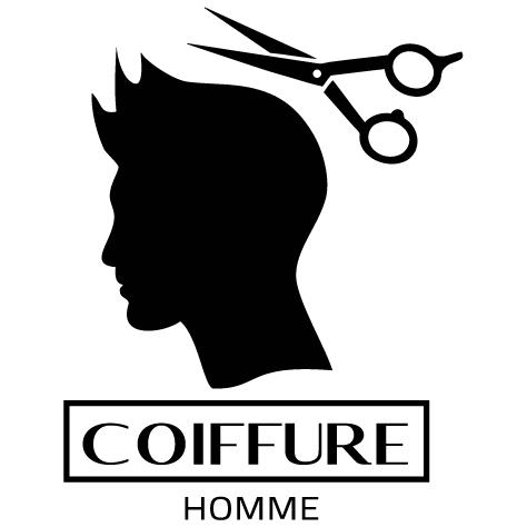Sticker coiffure homme : SCH05