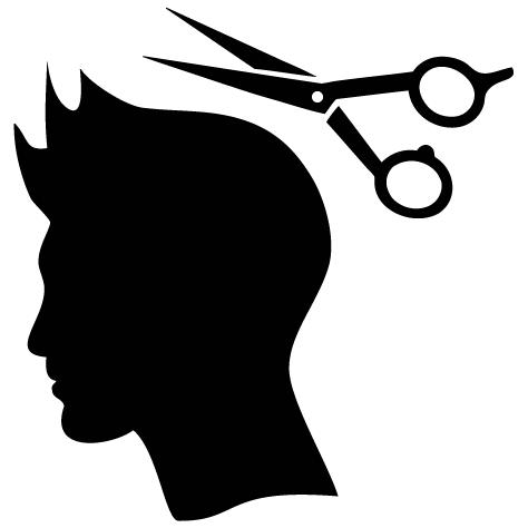 Sticker coiffure homme : SCH06