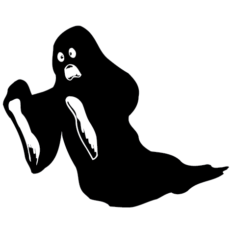 Sticker fantôme - 01