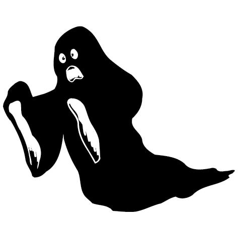 Achat Sticker fantôme - 01