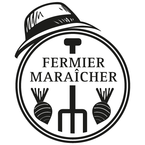 Sticker fermier maraîcher 2