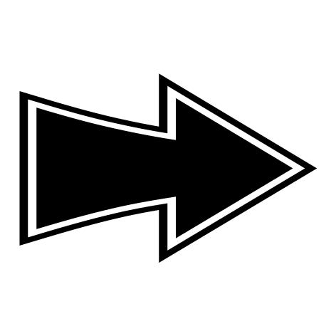 Achat Sticker flèche  : SF13