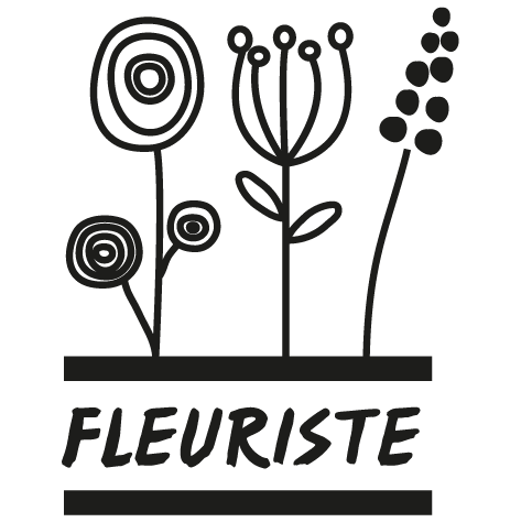 Sticker fleuriste : 02