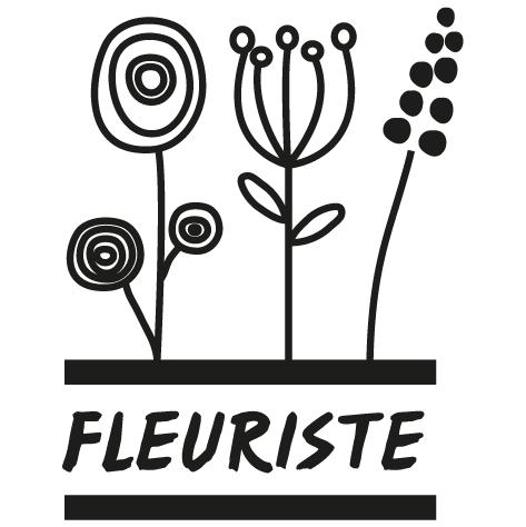 Sticker fleuriste : 02