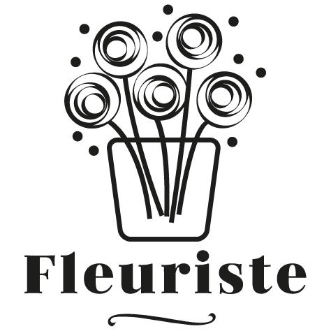 Sticker fleuriste : 03