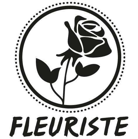 Sticker fleuriste : 04