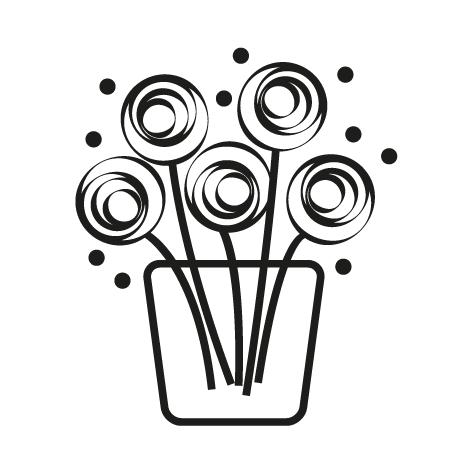 Sticker fleuriste : 06