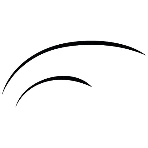Sticker courbe : 08