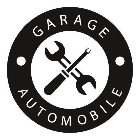 Sticker garage outils de mécanicien