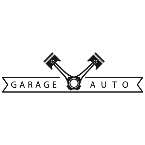 Sticker garage automobile : STG05