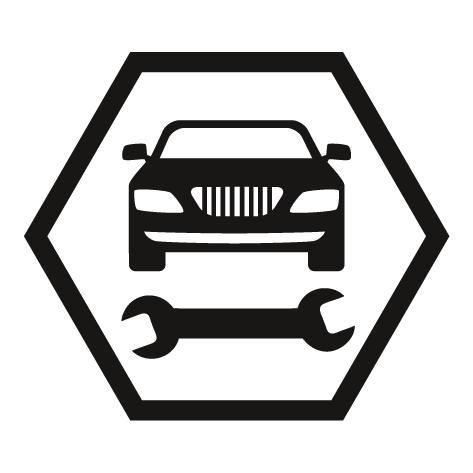 Sticker garage automobile : STG06