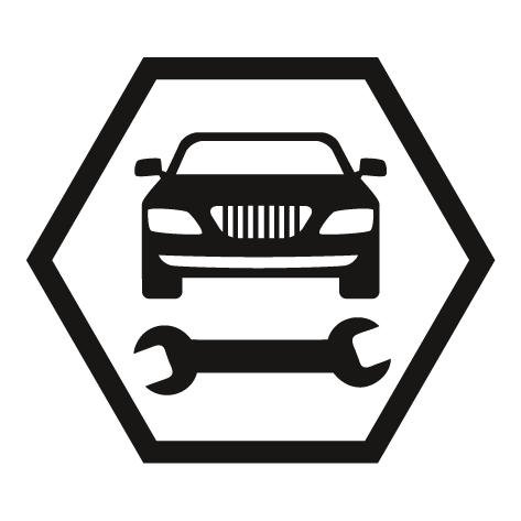 Achat Sticker garage automobile : STG06