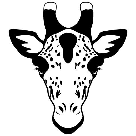 Achat Sticker Girafe