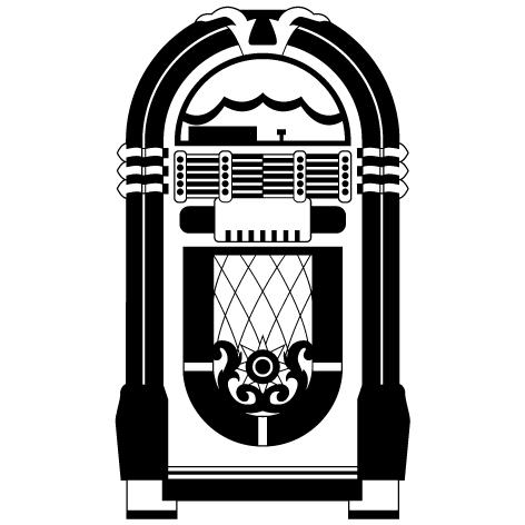 Achat Sticker jukebox