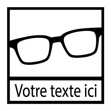 Sticker lunettes : STL07