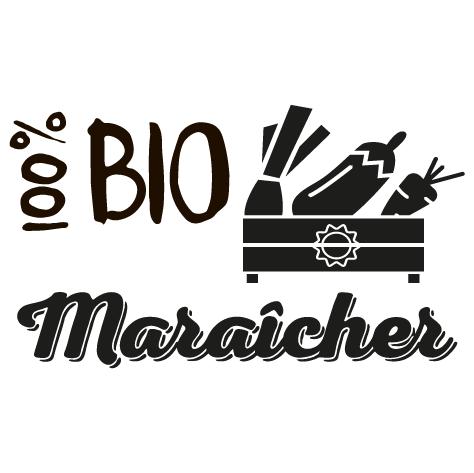Sticker maraîcher bio