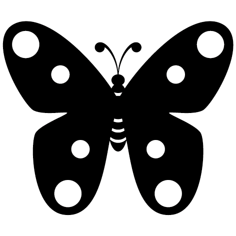 Sticker papillon : 01