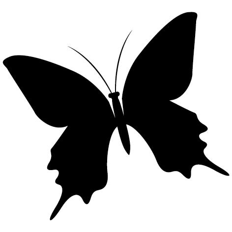 Achat Sticker papillon : 04