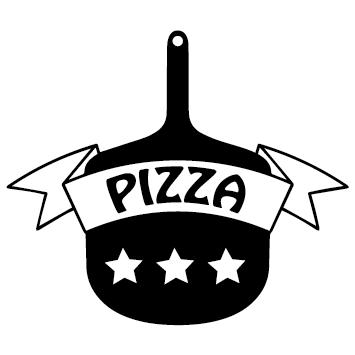 Sticker pelle à pizza