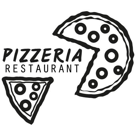 Sticker restaurant pizzeria