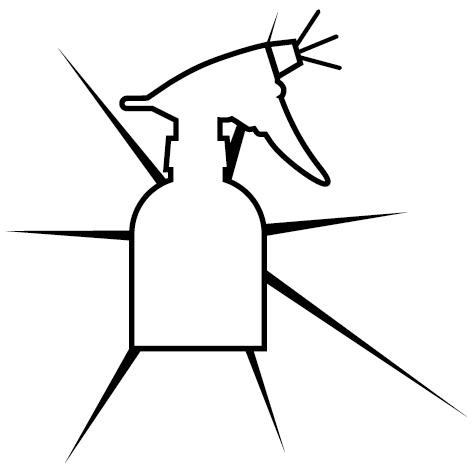 Achat Sticker pulvérisateur vitre