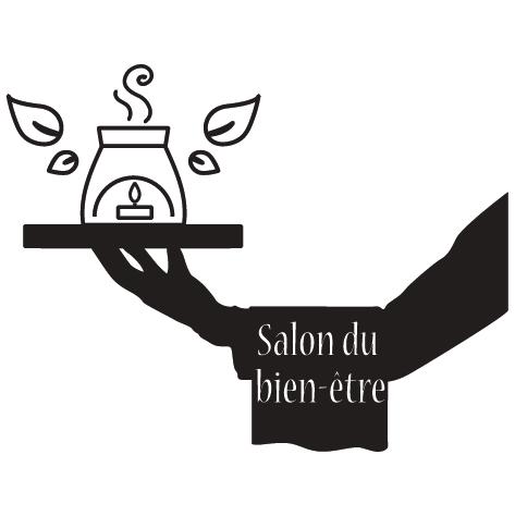 Sticker salon du bien-être