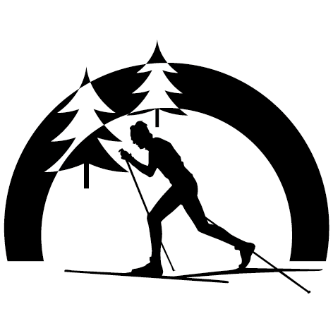 Sticker ski de fond