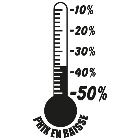 Sticker thermomètre