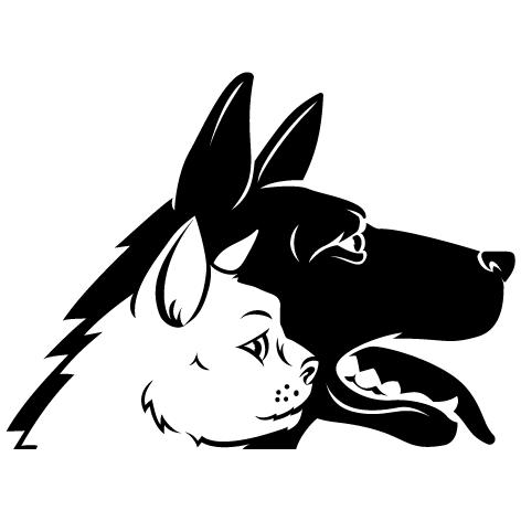 Achat Sticker chien chat : 04