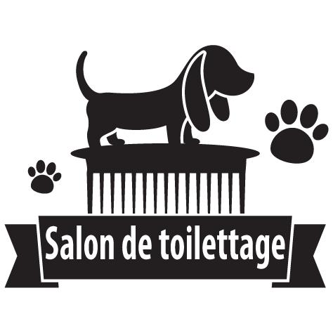 Achat Sticker toilettage canin : 14