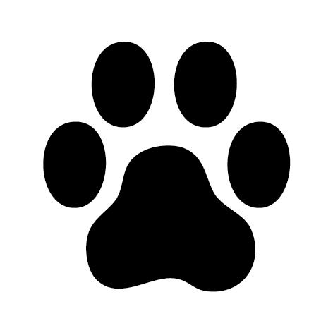 Sticker toilettage canin patte : 02