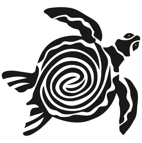 Sticker tortue - 04