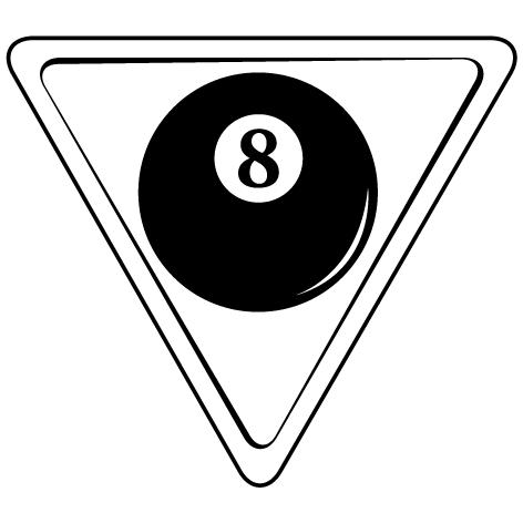 Achat Sticker triangle de billard