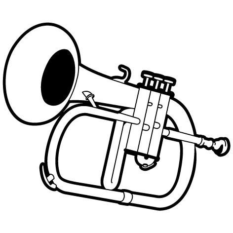 Sticker trompette