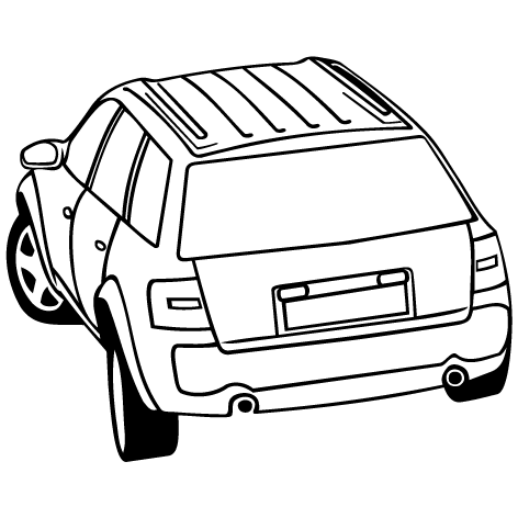 Achat Sticker voiture 4x4 : STV020