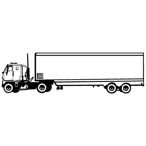 Achat Sticker camion : STV030