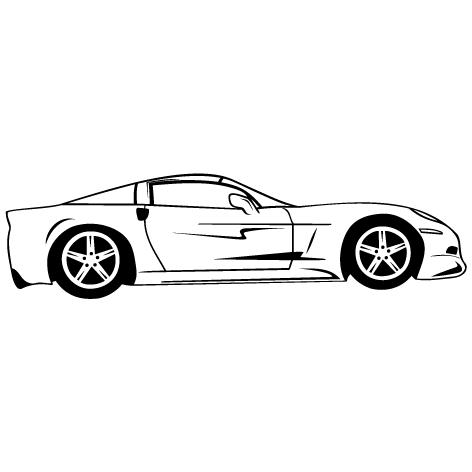 Achat Sticker voiture : STV04