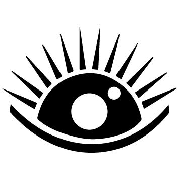 Sticker œil : 08