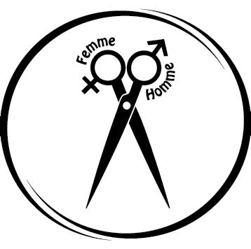 Sticker rond coiffure