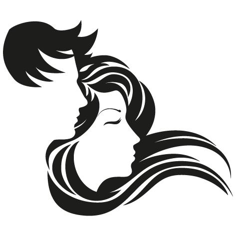 Sticker têtes design